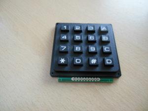 Arduino 4x4 Keypad